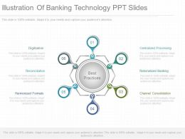 Ppts Illustration Of Banking Technology Ppt Slides