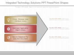 Ppts Integrated Technology Solutions Ppt Powerpoint Shapes