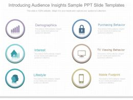 Ppts Introducing Audience Insights Sample Ppt Slide Templates