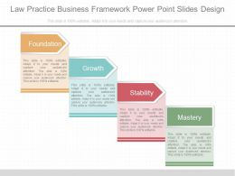 Ppts Law Practice Business Framework Power Point Slides Design