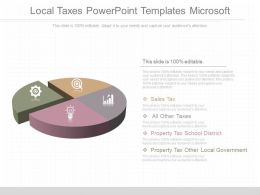 Ppts Local Taxes Powerpoint Templates Microsoft