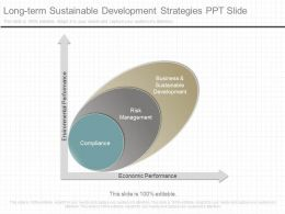 Ppts Long Term Sustainable Development Strategies Ppt Slide