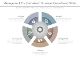 Ppts Management For Globalized Business Powerpoint Slides