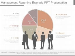 Ppts Management Reporting Example Ppt Presentation