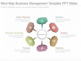 Ppts Mind Map Business Management Template Ppt Slides