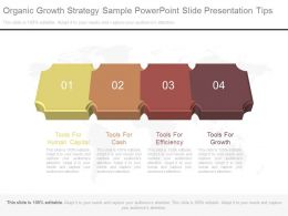 Ppts Organic Growth Strategy Sample Powerpoint Slide Presentation Tips
