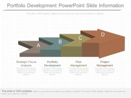Ppts Portfolio Development Powerpoint Slide Information