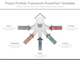 Ppts Project Portfolio Framework Powerpoint Templates
