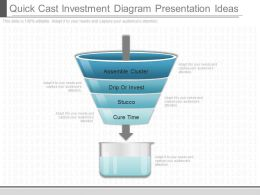 Ppts Quick Cast Investment Diagram Presentation Ideas