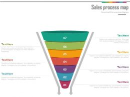 48457155 Style Layered Funnel 7 Piece Powerpoint Presentation Diagram Infographic Slide