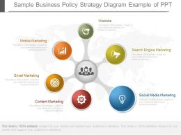 Ppts Sample Business Policy Strategy Diagram Example Of Ppt