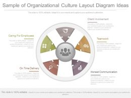 Ppts Sample Of Organizational Culture Layout Diagram Ideas
