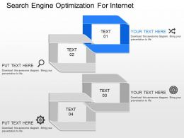 ppts Search Engine Optimization For Internet Powerpoint Template