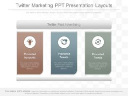 Ppts Twitter Marketing Ppt Presentation Layouts