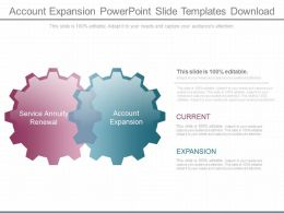Pptx Account Expansion Powerpoint Slide Templates Download