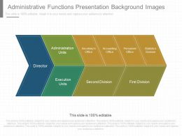 Pptx Administrative Functions Presentation Background Images