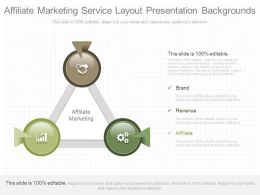 Pptx Affiliate Marketing Service Layout Presentation Backgrounds