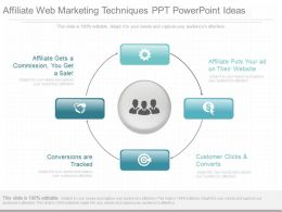 Pptx Affiliate Web Marketing Techniques Ppt Powerpoint Ideas