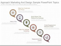 Pptx Approach Marketing And Design Sample Powerpoint Topics