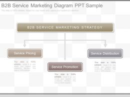 Pptx B2b Service Marketing Diagram Ppt Sample