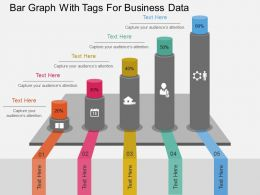 pptx_bar_graph_with_tags_for_business_data_flat_powerpoint_design_Slide01