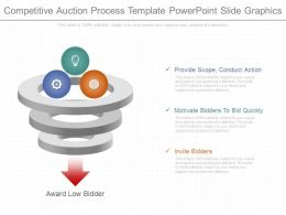 Pptx Competitive Auction Process Template Powerpoint Slide Graphics
