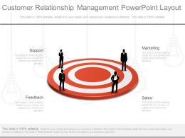 Pptx Customer Relationship Management Powerpoint Layout
