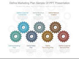Pptx Define Marketing Plan Sample Of Ppt Presentation