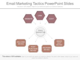 Pptx E Mail Marketing Tactics Powerpoint Slides