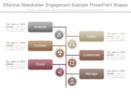 Pptx Effective Stakeholder Engagement Example Powerpoint Shapes