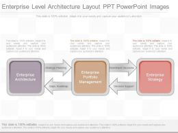 Pptx Enterprise Level Architecture Layout Ppt Powerpoint Images