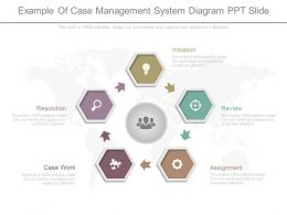 Pptx Example Of Case Management System Diagram Ppt Slide