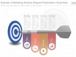 Pptx Example Of Marketing Analysis Diagram Presentation Visual Aids