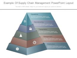 Pptx Example Of Supply Chain Management Powerpoint Layout