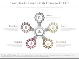Pptx Examples Of Smart Goals Example Of Ppt