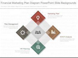 Pptx Financial Marketing Plan Diagram Powerpoint Slide Backgrounds
