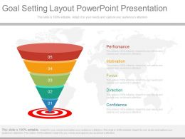 Pptx Goal Setting Layout Powerpoint Presentation