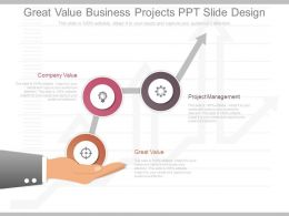 Pptx Great Value Business Projects Ppt Slide Design