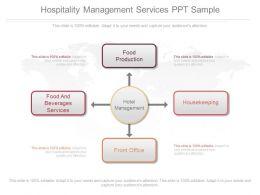 Pptx Hospitality Management Services Ppt Sample