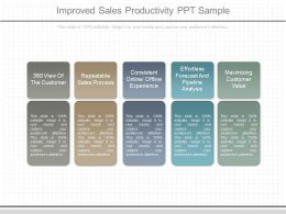 Pptx Improved Sales Productivity Ppt Sample