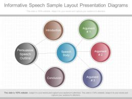Pptx Informative Speech Sample Layout Presentation Diagrams