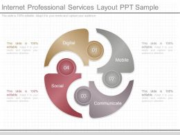 Pptx Internet Professional Services Layout Ppt Sample