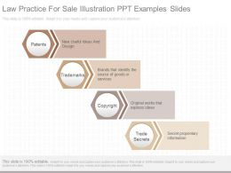 Pptx Law Practice For Sale Illustration Ppt Examples Slides