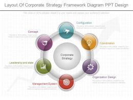 pptx_layout_of_corporate_strategy_framework_diagram_ppt_design_Slide01
