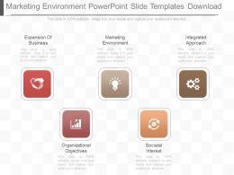 Pptx Marketing Environment Powerpoint Slide Templates Download