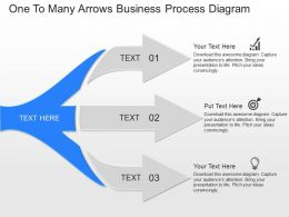 pptx One To Many Arrows Business Process Diagram Powerpoint Template