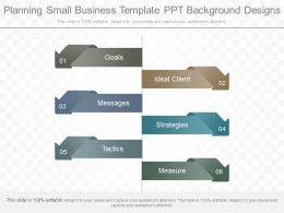 Pptx Planning Small Business Template Ppt Background Designs