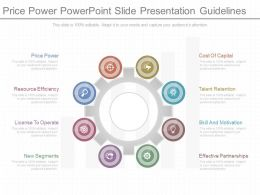 Pptx Price Power Powerpoint Slide Presentation Guidelines