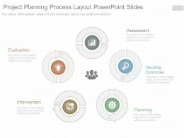 Pptx Project Planning Process Layout Powerpoint Slides