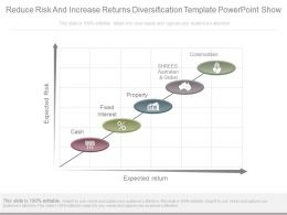 pptx_reduce_risk_and_increase_returns_diversification_template_powerpoint_show_Slide01